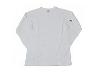 スマートスパイス メンズ サーマルクルーネックTシャツ WHITE
