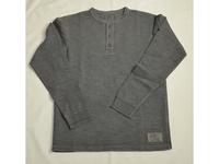 スマートスパイス メンズ スラブヘンリーネックTシャツ WELL WORN BLACK