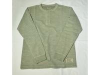 スマートスパイス メンズ スラブヘンリーネックTシャツ WELL WORN GREEN