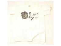 スマートスパイス メンズ プリントTシャツ MONDAY SURF ホワイト