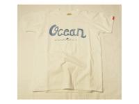 スマートスパイス メンズ プリントTシャツ OCEAN ホワイト