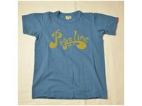 スマートスパイス メンズ プリントTシャツ PIPELINE OAFU BLUE