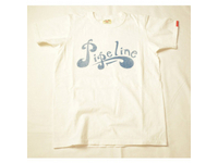 スマートスパイス メンズ プリントTシャツ PIPELINE ホワイト