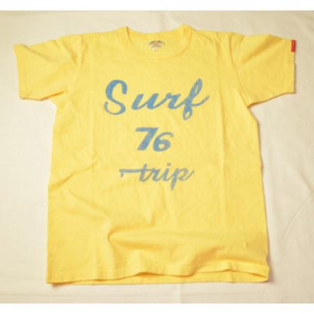 スマートスパイス メンズ プリントTシャツ SURF TRIP SUN FLOWER