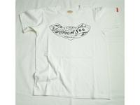スマートスパイス メンズ プリントTシャツ CREAM'Sホワイト