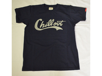 スマートスパイス CHILL OUT PRINT T-SHIRTS NAVY