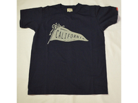 スマートスパイス CALIFORNIA FLAG  PRINT T-SHIRTS NAVY