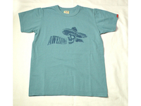 スマートスパイス  AWESOME PRINT TEE SHIRTS ANTIQUE GREEN