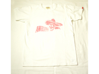 スマートスパイス  AWESOME PRINT TEE SHIRTS WHITE