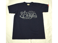 スマートスパイス CALIFORNIA BAY  PRINT TEE SHIRTS NAVY