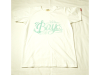 スマートスパイス CALIFORNIA BAY  PRINT TEE SHIRTS WHITE