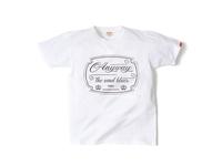 スマートスパイス ANIYWAYプリントTシャツ 日本製 半袖 ホワイト