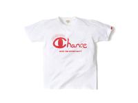 スマートスパイス CHANCE プリントTシャツ 日本製 半袖 ホワイト