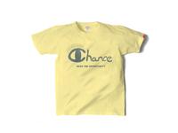 スマートスパイス CHANCE プリントTシャツ 日本製 半袖 BLAZING YELLOW