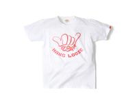 スマートスパイス HANGLOOSE プリントTシャツ 日本製 半袖 ホワイト