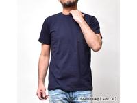 スマートスパイス 日本製 クルーネック半袖ポケットTシャツ ネイビー