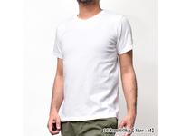 スマートスパイス 日本製 Vネック半袖ポケットTシャツ ホワイト