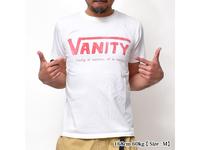 スマートスパイス 日本製 VANITY PRINT TEE ホワイト