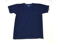 スマートスパイス 日本製 本藍染ポケットTシャツ インディゴ