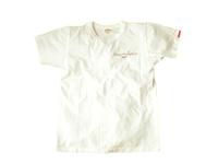スマートスパイス 日本製 TEAM RAINBOW 半袖 プリント TEE ホワイト