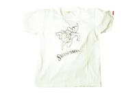 スマートスパイス 日本製 SMASPAMAN 半袖 プリント TEE ホワイト