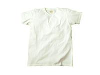スマートスパイス 日本製 Vネック半袖 TEE ホワイト