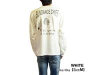 スマートスパイス SUNDACE CHIEF プリント L/S Tシャツ 日本製 半袖 ホワイト