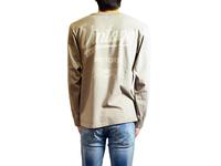 スマートスパイス VINTAGE MOTORS プリント L/S Tシャツ 日本製 半袖 CLASSIC FRENCH GRAY