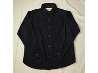 スマートスパイス WOOLxPOLYESTER CPO JACKET NAVY