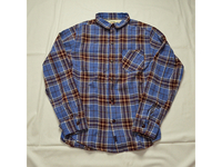 スマートスパイス FLANNEL WORK SHIRTS BLUE