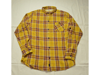 スマートスパイス FLANNEL WORK SHIRTS YELLOW